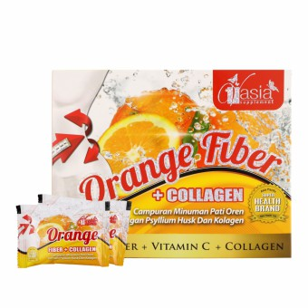 Orange Fiber + Collagen