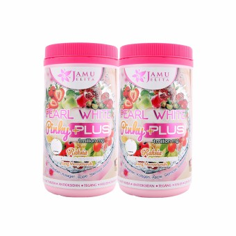 TWIN PACK | Pearl White Pinky Plus (1kg)